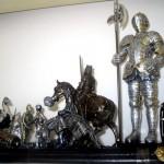 Colecţii de navetişti: cavaleri medievali