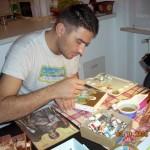 Portret de navetist: Lucian, românul care ne aduce sfinţii în case
