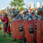 La Festivalul Antic Tomis