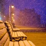 Iarna nu vrea să plece de la Constanţa
