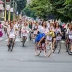 SkirtBike Constanța 2015 – ii, flori și biciclete pe străzile orașului