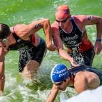 O lecție de forță și voință la Triathlon Challange Mamaia 2015