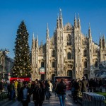 O după-amiază la Milano