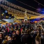 Prin târgul de Crăciun din București