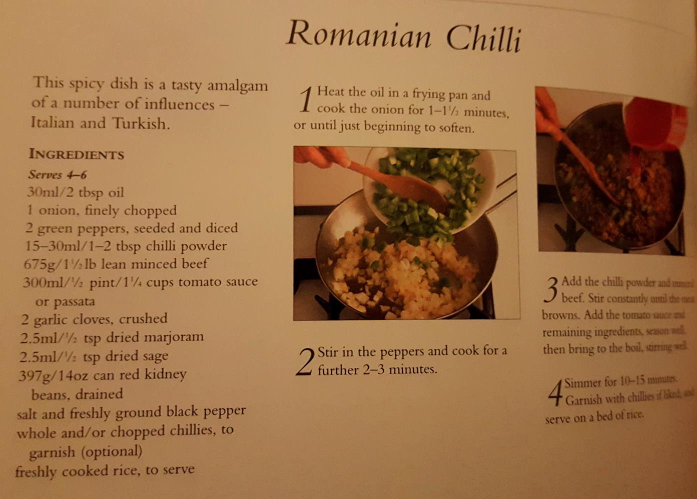 chilli romanian
