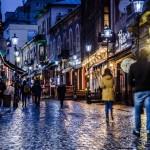 Fotoreportaj din București: Noaptea prin micul Paris