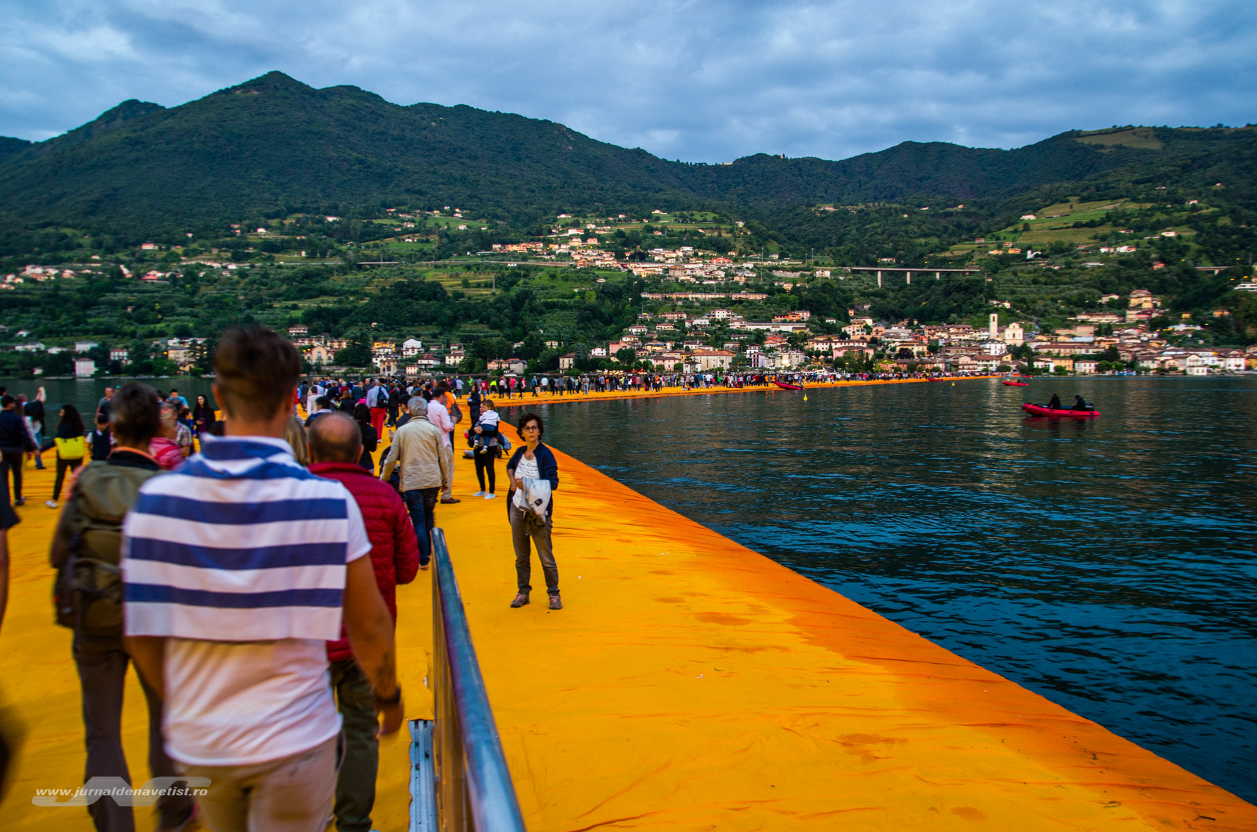 The Floating Piers 8030