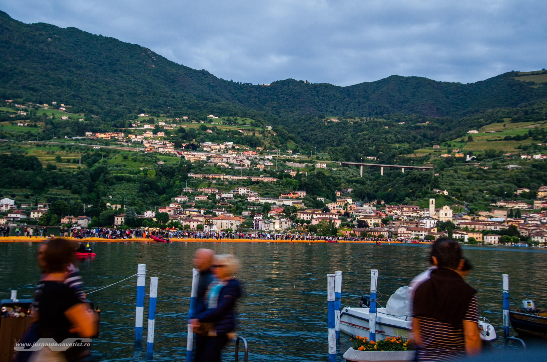 The Floating Piers 8040
