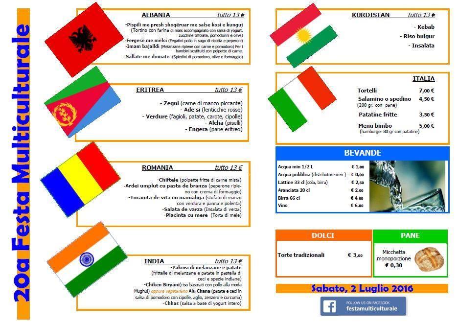 menu 2 iulie