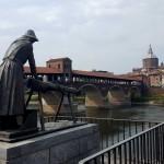 O zi în Pavia